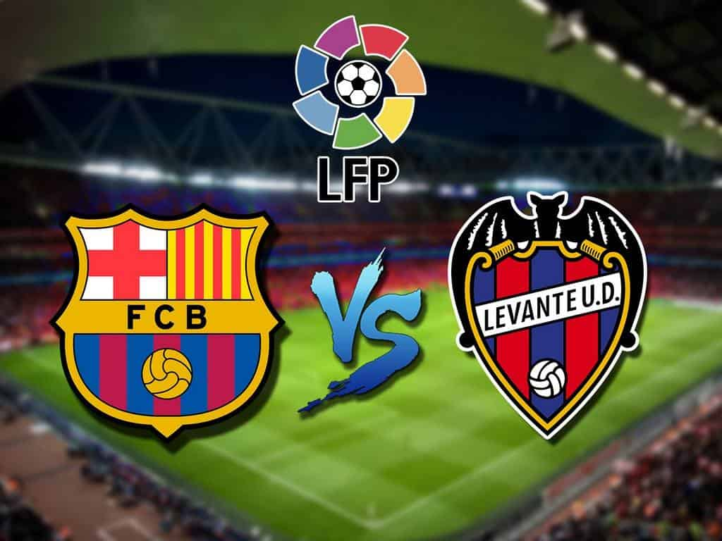 Футбол Чемпионат Испании Барселона Леванте Прямая трансляция в 22:55 на канале