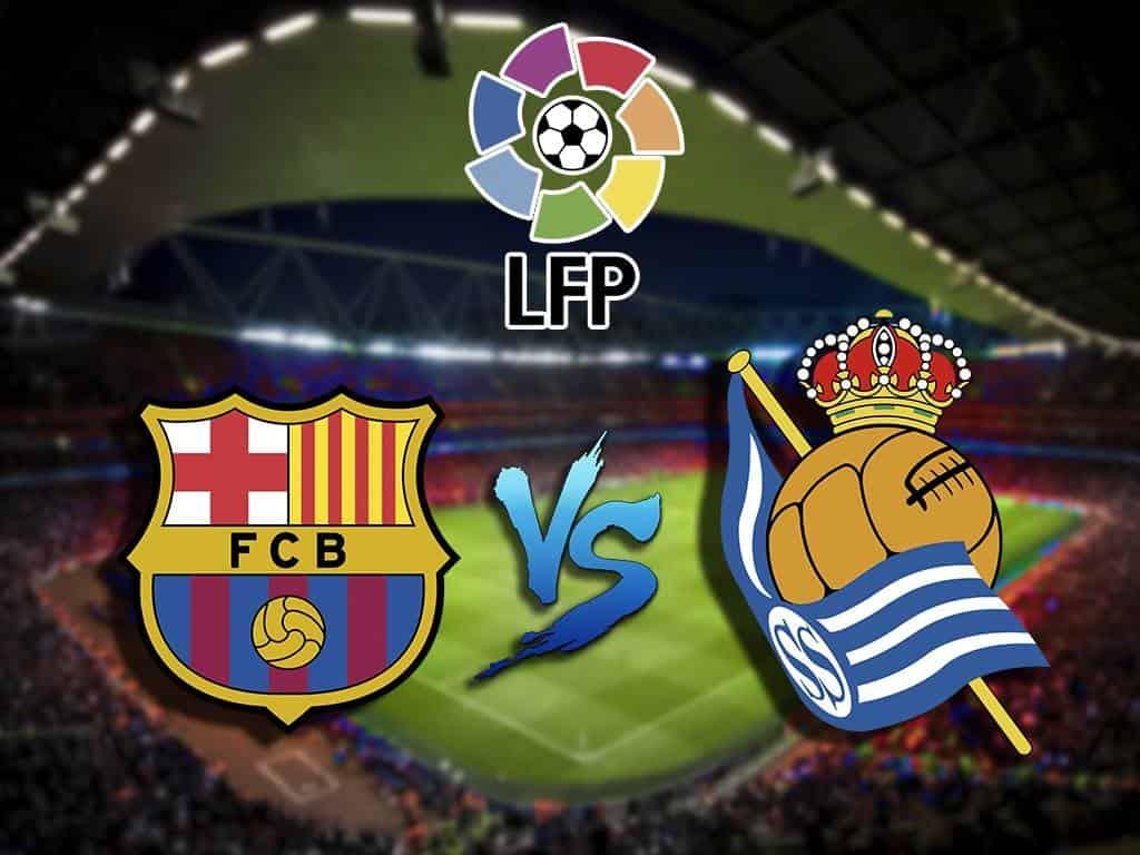 Футбол Чемпионат Испании Барселона Реал Сосьедад Прямая трансляция в 20:35 на канале