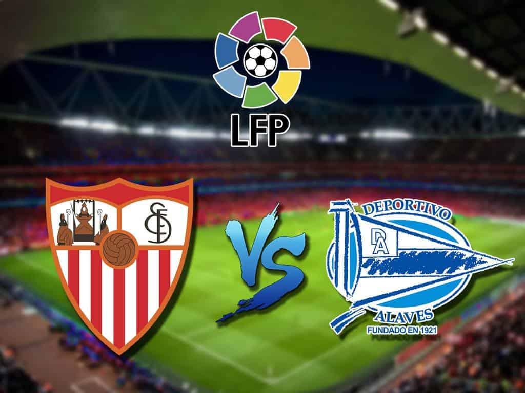 Футбол Чемпионат Испании Севилья Алавес Прямая трансляция в 20:25 на канале