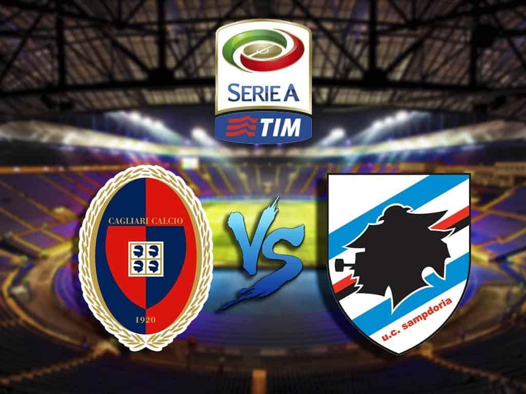 Футбол-Чемпионат-Италии-Кальяри-Сампдория