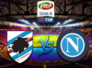 Футбол Чемпионат Италии Сампдория Наполи Прямая трансляция в 22:40 на канале