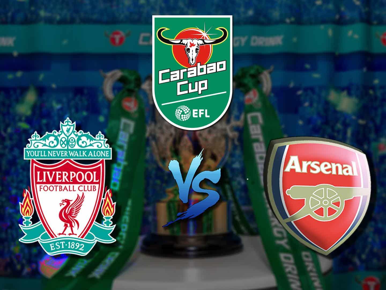 Футбол Кубок Английской лиги 1/8 финала Ливерпуль Арсенал в 20:15 на канале Матч-ТВ