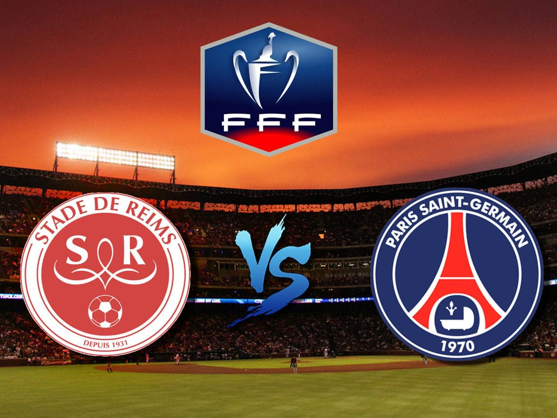 Футбол Кубок Французской лиги 1/2 финала Реймс ПСЖ Прямая трансляция в 22:55 на канале