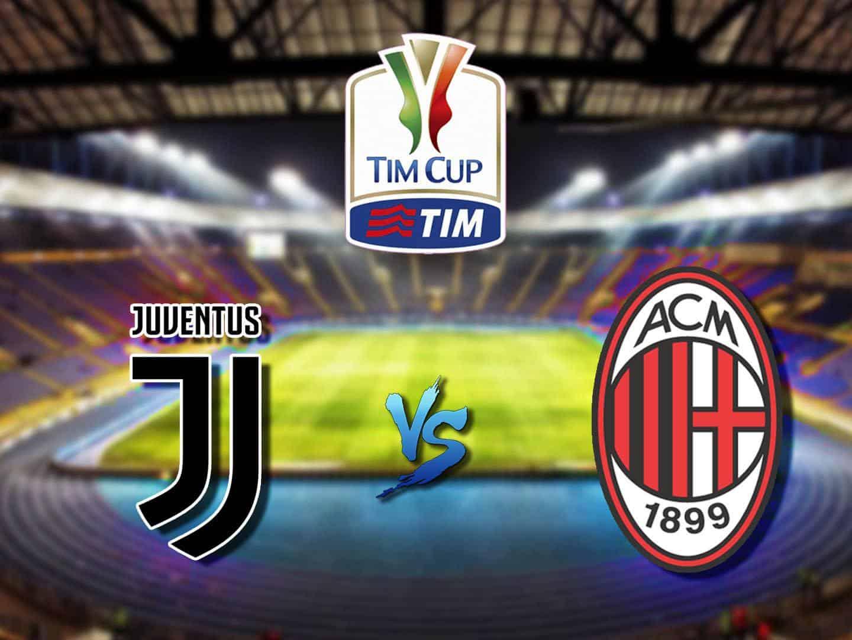 Футбол Кубок Италии 1/2 финала Ювентус Милан Прямая трансляция в 22:40 на канале