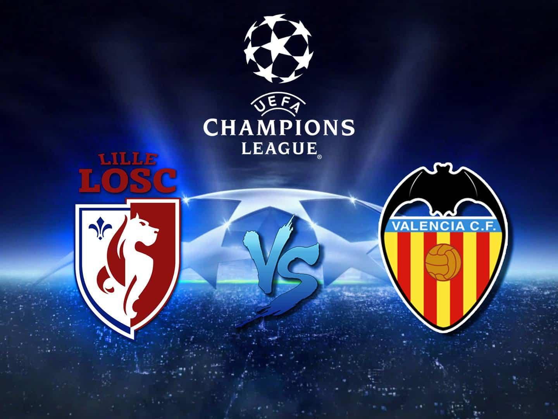 программа Матч ТВ: Футбол Лига чемпионов Лилль Франция — Валенсия Испания
