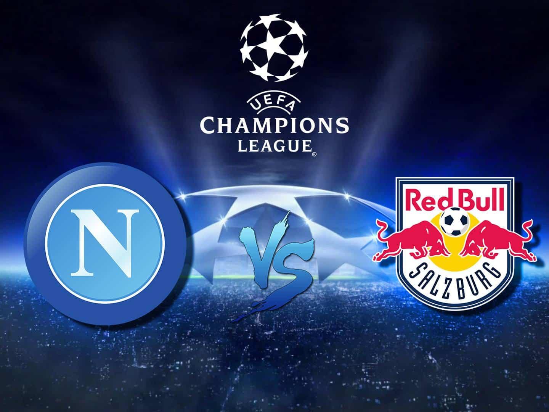 программа Матч Арена: Футбол Лига чемпионов Наполи Италия — Зальцбург Австрия Прямая трансляция