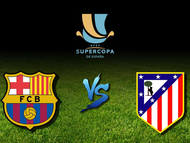 программа Матч ТВ: Футбол Суперкубок Испании 1/2 финала Барселона Атлетико Трансляция из Саудовской Аравии Прямая трансляция