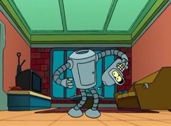 программа 2х2: Футурама Страх планеты роботов