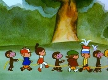 программа Детский мир: Гирлянда из малышей