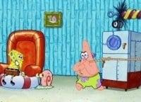 программа Nickelodeon: Губка Боб Квадратные Штаны Наивные штаны/ Семь пятниц