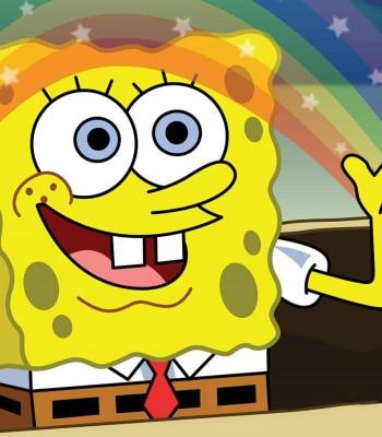 программа Nickelodeon: Губка Боб Квадратные Штаны Пуши Обнимаш / Гарцующий Патрик