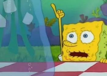 программа Nickelodeon: Губка Боб Квадратные Штаны Хижина в водорослях / Тайное влечение