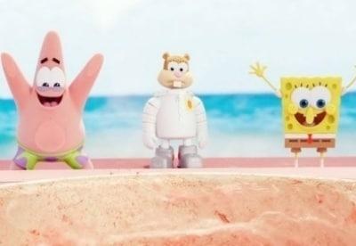 кадр из фильма Губка Боб в 3D