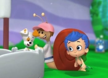 программа Nick Jr: Гуппи и пузырики Снежный отряд, на помощь