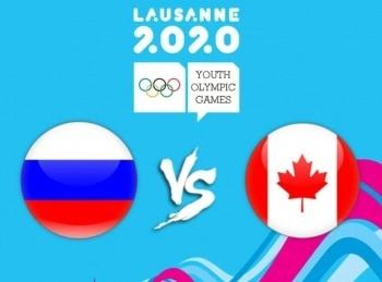 III Зимние юношеские Олимпийские игры Хоккей Россия — Канада Трансляция из Швейцарии в 00:40 на канале