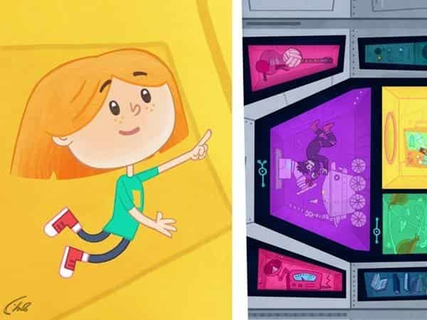 программа Карусель: Катя и Эф Куда угодно дверь Чистая игра