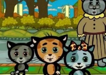 программа Малыш ТВ: Котяткины истории Как зверюшки говорят?
