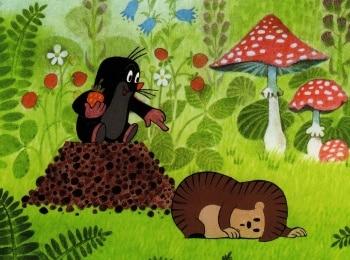 программа ОТР: Крот Крот и зонтик