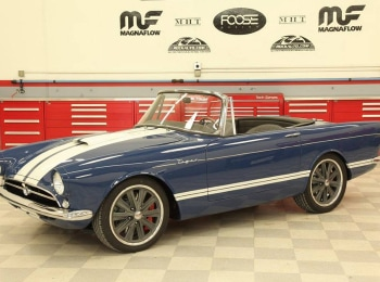 Крутой тюнинг Ford Thunderbird 1955 года в 13:20 на канале