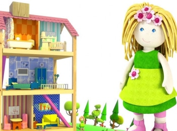 Кукольный-домик-Яблочный-пирог