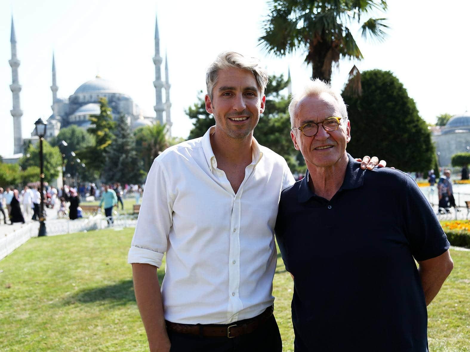 программа Travel Channel: Ларри и Джордж Лэм путешествуют по Турции Из Анкары в Бейпазари