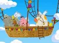 программа Карусель: Летающие звери Малыши и летающие звери