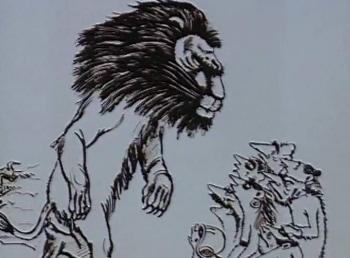 Лев и 9 гиен в 02:43 на Россия Культура