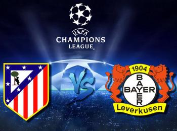 Лига чемпионов Атлетико Испания — Байер Германия в 11:35 на канале