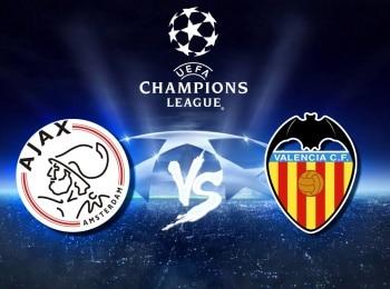 Лига чемпионов Аякс Нидерланды — Валенсия Испания в 18:55 на канале