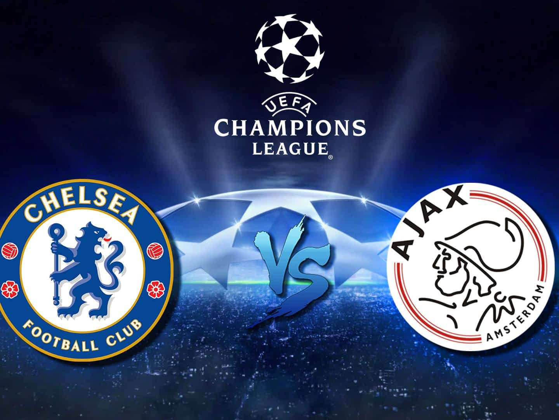 Лига чемпионов Челси Англия — Аякс Нидерланды в 12:05 на канале Футбол1