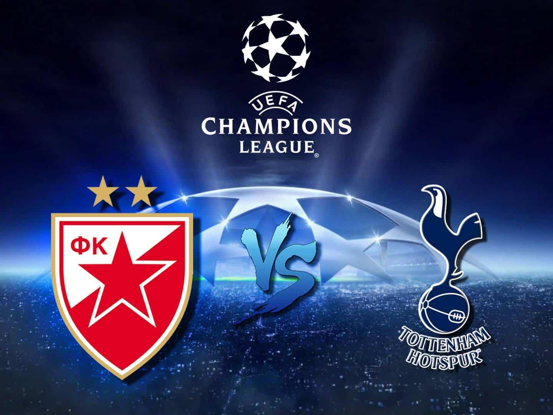 программа МАТЧ! Футбол 1: Лига чемпионов Црвена Звезда Сербия — Тоттенхэм Англия