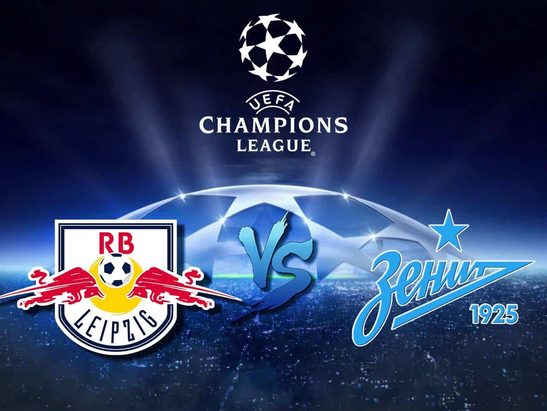 Лига чемпионов Лейпциг Германия — Зенит Россия в 02:35 на канале