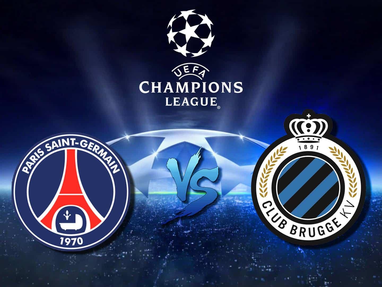 программа МАТЧ! Футбол 1: Лига чемпионов ПСЖ Франция — Брюгге Бельгия