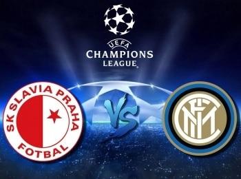 программа МАТЧ! Футбол 1: Лига чемпионов Славия Чехия — Интер Италия