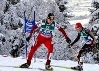 Лыжное двоеборье Кубок мира Клигенталь Гонка преследования в 11:00 на канале