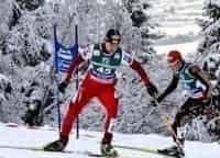 программа Евроспорт: Лыжное двоеборье Кубок мира Рамзау Гонка преследования