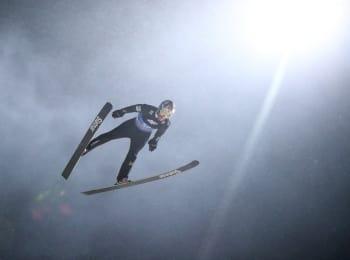 программа МАТЧ ТВ: Лыжный спорт Чемпионат мира Прыжки с трамплина Смешанные команды Трансляция из Германии Прямая трансляция