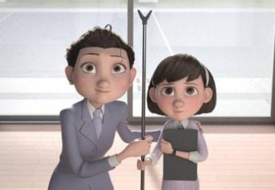кадр из фильма Маленький принц