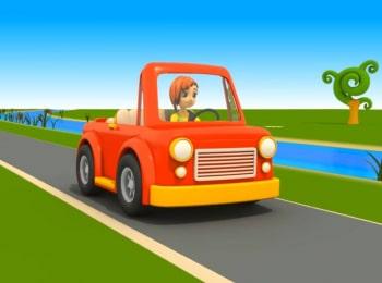 Машина-автошкола-Пожарная-машина-3
