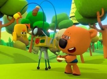 программа Карусель: Ми Ми Мишки Грибы и листья