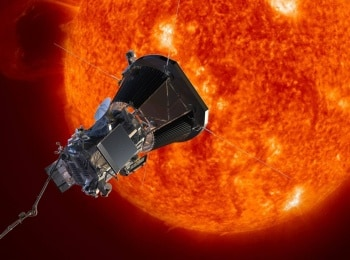 Миссия полёта к Солнцу в 13:35 на канале Культура