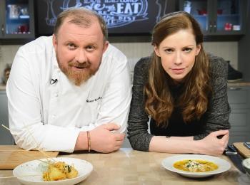 программа Кухня ТВ: Моя твоя еда Домашние ватрушки Сырный крем с хрустящим тестом и мятой