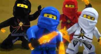 программа Cartoon Network: Ниндзяго В темноте