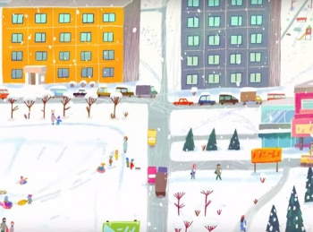 программа Мультиландия: Откуда берутся снежинки?