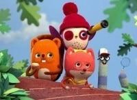 программа Nickelodeon: Отряд Бекки С днём шишки Будь со мной
