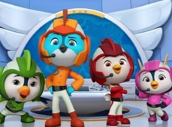 программа Nickelodeon: Отважные птенцы Лимонные пираты/Карта сокровищ