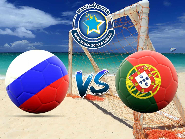 программа Матч Игра: Пляжный футбол Евролига Суперфинал Финал Россия Португалия Трансляция из Португалии