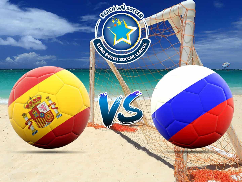 Пляжный футбол Евролига Суперфинал Испания – Россия Трансляция из Португалии в 00:20 на канале