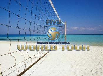программа Матч Игра: Пляжный волейбол Мировой тур Мужчины 1/2 финала Трансляция из Мексики Прямая трансляция