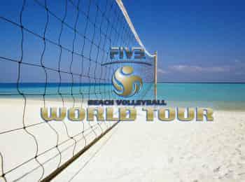 программа Матч Игра: Пляжный волейбол Мировой тур Женщины 1/2 финала Трансляция из Мексики